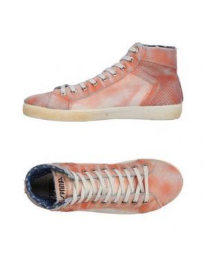 Высокие кеды и кроссовки SPRINGA. Цвет: оранжевый