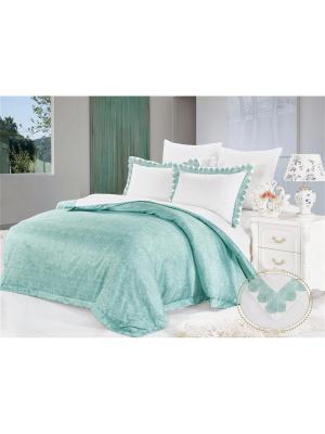 Комплект постельного белья, Романья, Семейный KAZANOV.A.. Цвет: зеленый, оливковый