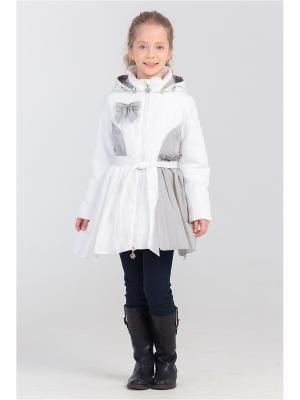 Пальто Steen Age. Цвет: белый