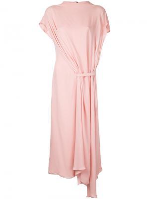 Платье Victory Bianca Spender. Цвет: розовый и фиолетовый