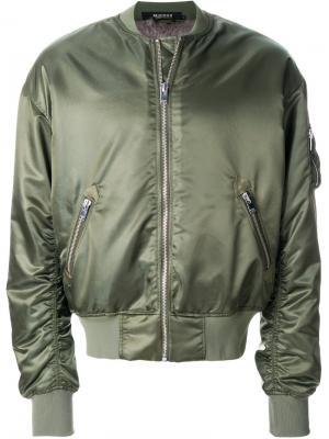 Куртка бомбер Tribal 95 Misbhv. Цвет: зелёный