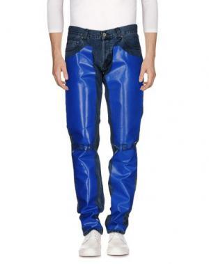 Джинсовые брюки HBA HOOD BY AIR. Цвет: синий