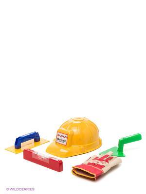 Набор маленького строителя SPIELSTABIL. Цвет: желтый