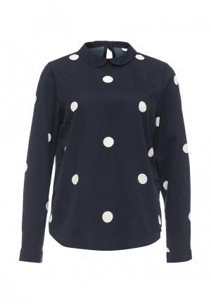 Блуза Jacqueline de Yong. Цвет: синий