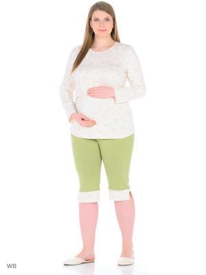 Пижама LOFT_77. Цвет: зеленый, бежевый