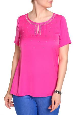 Блуза SARAH KERN. Цвет: пурпурный
