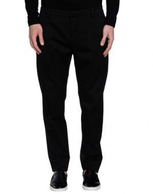 Повседневные брюки DONDUP. Цвет: черный