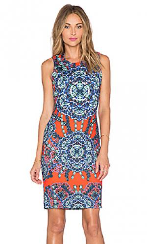 Платье shannon Hunter Bell. Цвет: красный