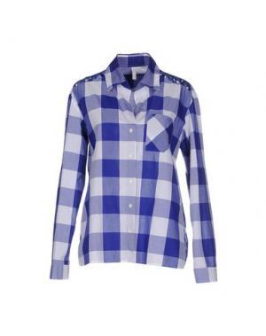 Pубашка AGLINI. Цвет: ярко-синий