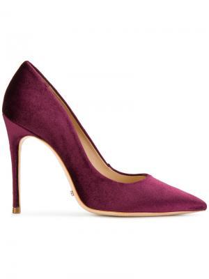 Туфли-лодочки с заостренным носком Schutz. Цвет: красный
