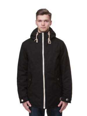 Куртка ЗАПОРОЖЕЦ Retro Zipper. Цвет: черный