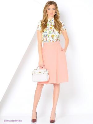 Блузка APRELLE. Цвет: молочный