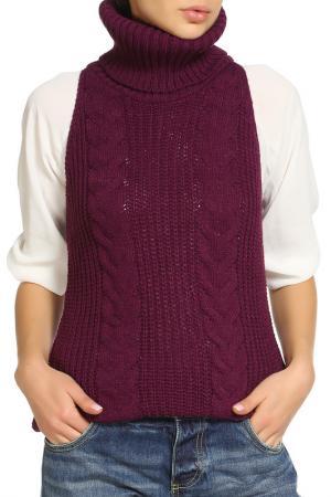 Блуза CAROON. Цвет: фиолетовый