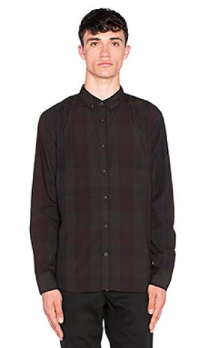 Рубашка с застёжкой на пуговицах kevin ourCASTE. Цвет: черный