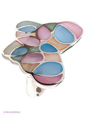 Кольцо Infiniti. Цвет: серебристый, розовый, синий, зеленый