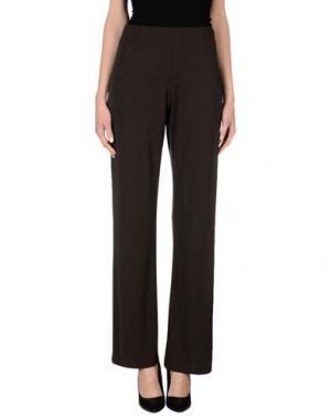 Повседневные брюки CALALUNA. Цвет: темно-коричневый