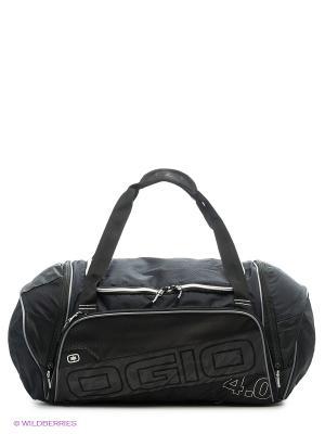 Сумка OGIO Endurance 4.0 Black/Silver. Цвет: черный