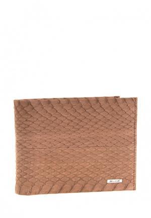 Портмоне Galib. Цвет: коричневый