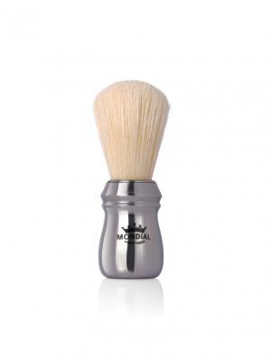 Помазок для бритья Mondial.. Цвет: серебристый