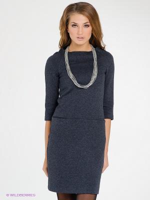 Платье IMAGO. Цвет: серый