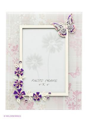 Рамка для фотографии Jardin DEte Нежная сирень D'ETE. Цвет: светло-серый, лиловый, фиолетовый