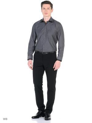 Рубашка VipDressCode. Цвет: серый