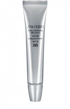 Крем BB Идеальное увлажение Shiseido. Цвет: бесцветный