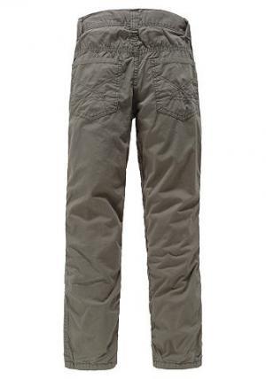 Утепленные брюки ARIZONA. Цвет: цвет серого камня