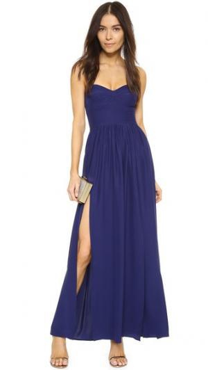 Платье Gisele Amanda Uprichard. Цвет: темно-синий