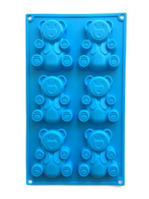 Форма для выпечки DiMi. Цвет: голубой