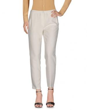 Повседневные брюки MINIMUM. Цвет: слоновая кость
