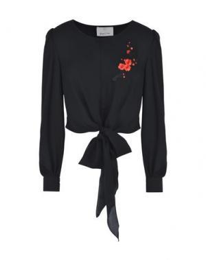 Блузка GEORGE J. LOVE. Цвет: черный
