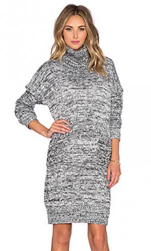 Платье свитер thoughtful The Allflower Creative. Цвет: черный