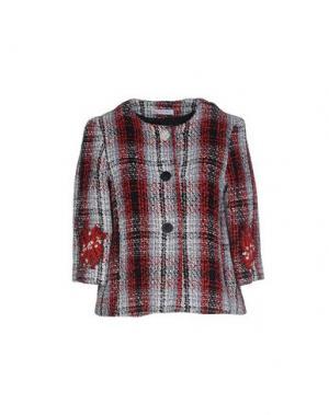 Пиджак ANGELA MELE MILANO. Цвет: красно-коричневый