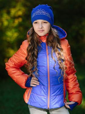 Куртка DUWALI. Цвет: оранжевый