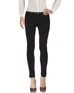 Повседневные брюки DEKKER. Цвет: темно-коричневый