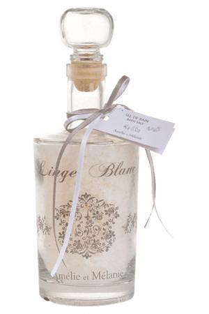 Соль для ванны Amelie et Melanie. Цвет: белый
