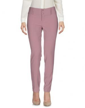 Повседневные брюки LIST. Цвет: пастельно-розовый