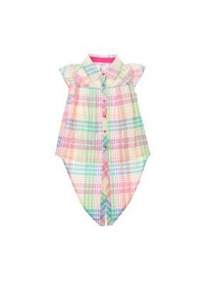 Блузка PlayToday. Цвет: розовый