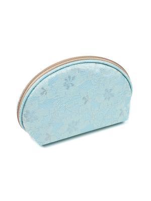 Косметичка из ткани DW-11-10 №4 , CB-2183-L blue Zinger. Цвет: голубой