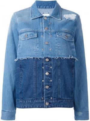 Куртка blue is my name Steve J & Yoni P. Цвет: синий