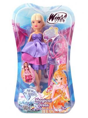Кукла Winx Club Волшебное платье, Stella. Цвет: лиловый, фиолетовый