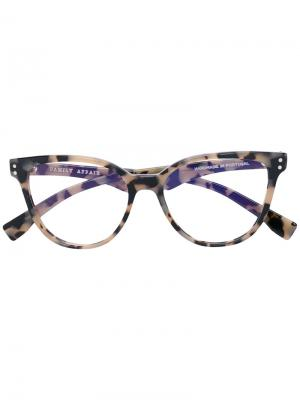Cat eye glasses Family Affair. Цвет: чёрный
