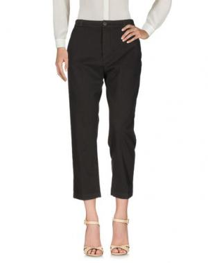 Повседневные брюки TRUE NYC.. Цвет: темно-коричневый