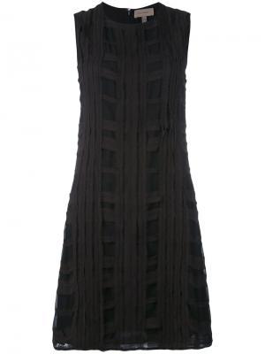 Платье шифт Tony Cohen. Цвет: чёрный