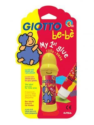 Giotto  bebe stik 20g,клей карандаш 20гр. FILA. Цвет: бежевый, красный, белый
