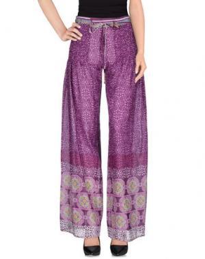 Повседневные брюки TENAX. Цвет: розовато-лиловый