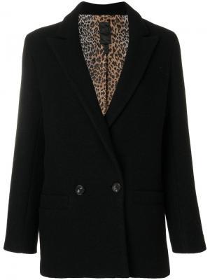 Двубортный пиджак Dondup. Цвет: чёрный