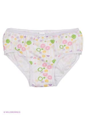 Трусики для девочек MilanKo. Цвет: белый, бледно-розовый