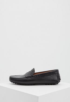 Мокасины Trussardi Jeans. Цвет: черный